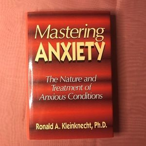Mastering Anxiety Natural Treatment great book!